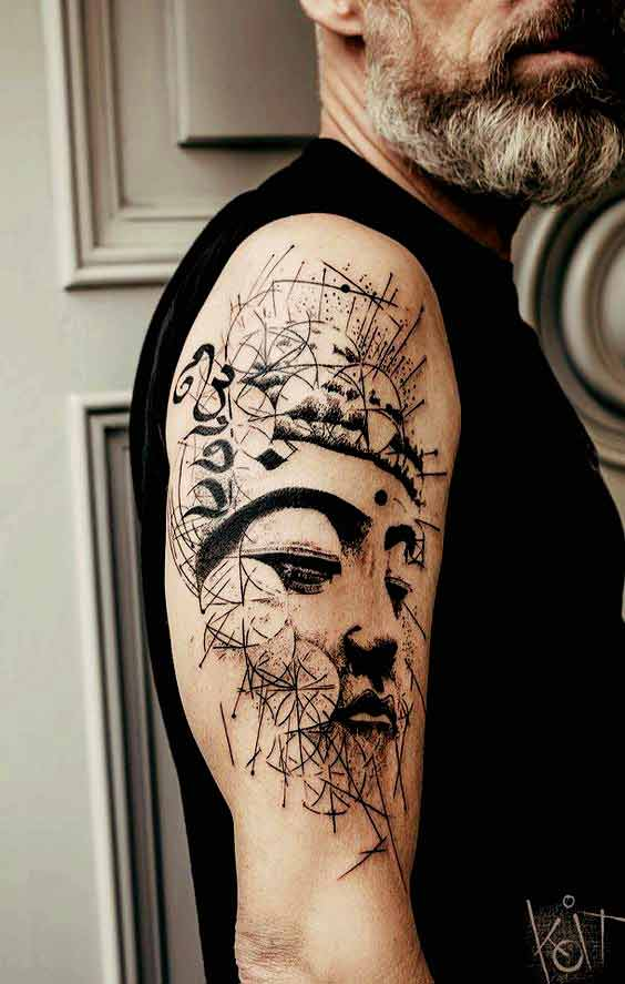 4543219f0 108 Best Badass Tattoos for Men | Improb