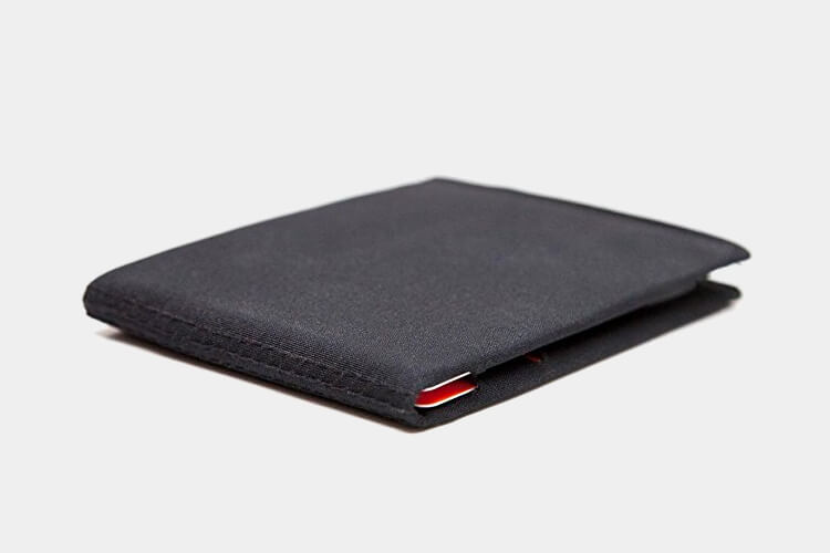 micro soft shell bifold wallet by slimfold