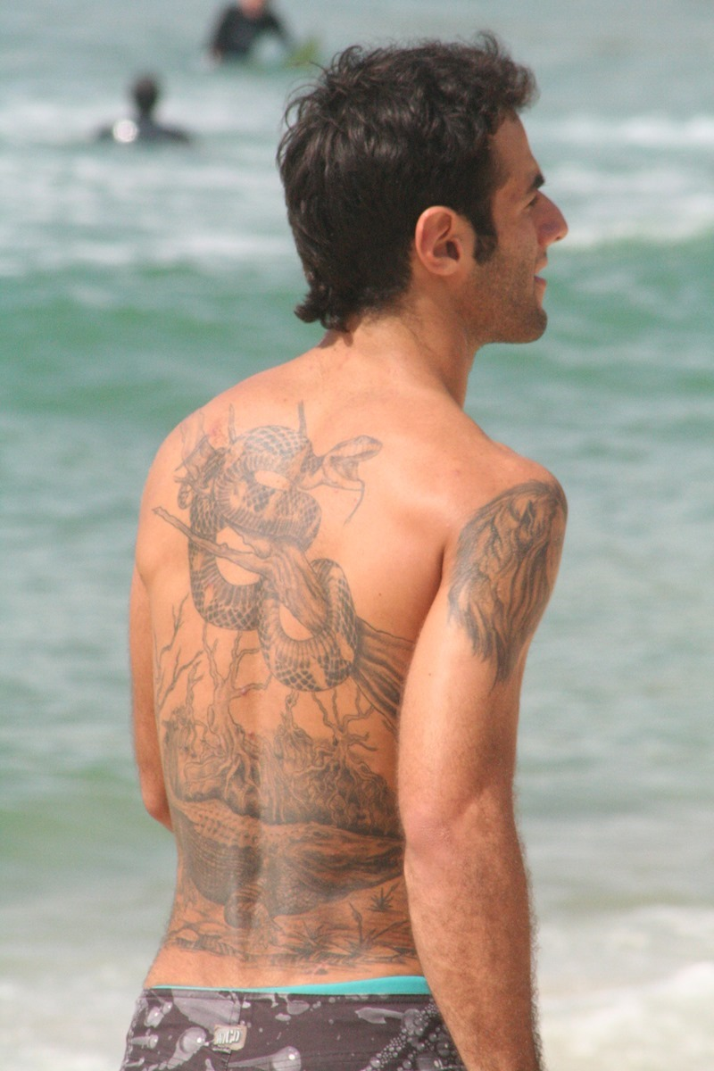 a13feabc6 109 Best Back Tattoos for Men | Improb