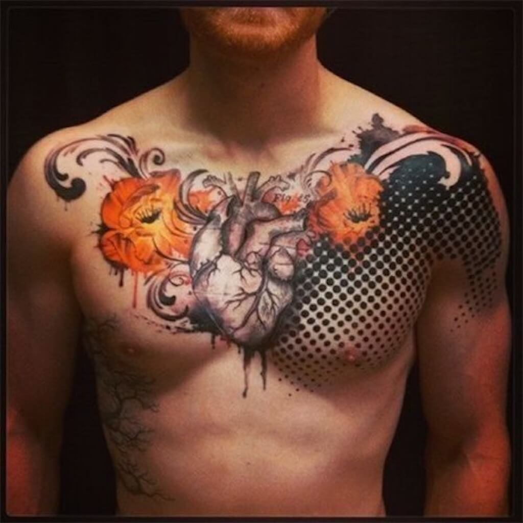 Tattoo Ideas For Women Chest: The 100 Best Chest Tattoos For Men