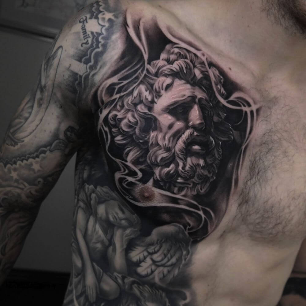 Tattoo For Men: The 100 Best Chest Tattoos For Men