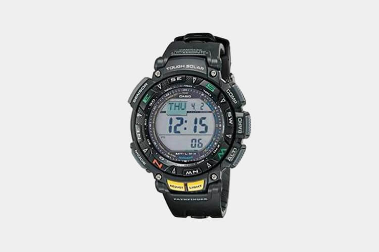 Casio PAG240-1CR Pathfinder Multi-Function