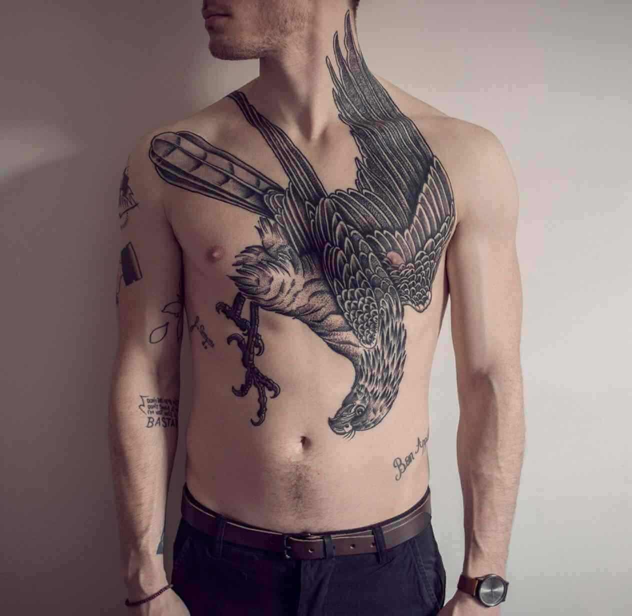 The 100 Best Chest Tattoos For Men