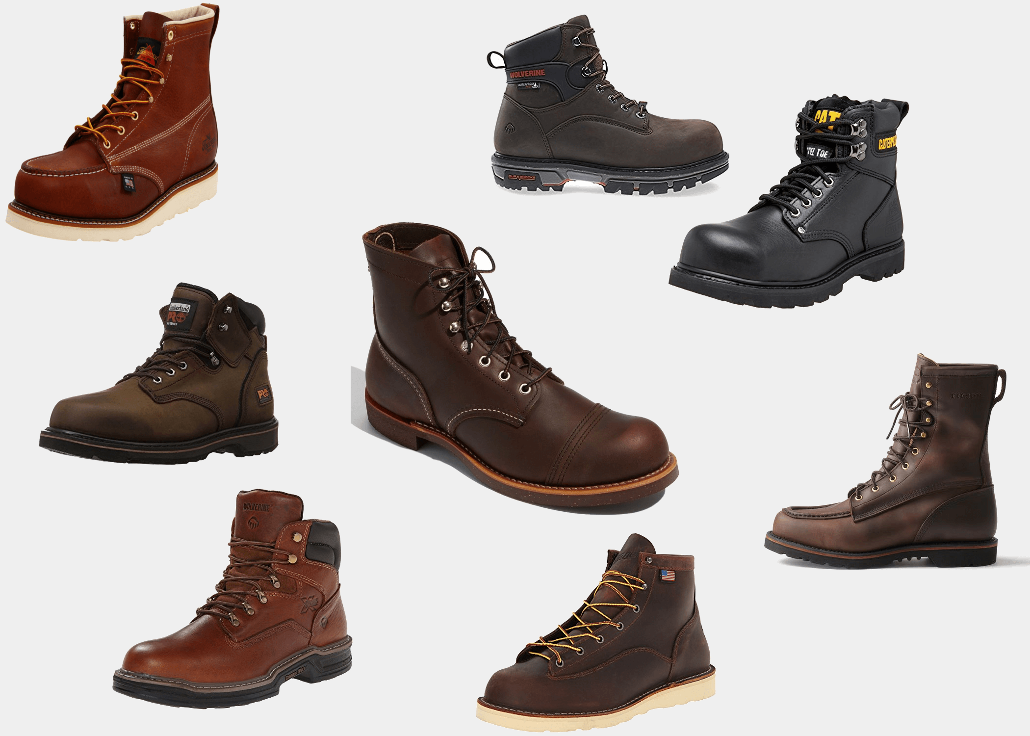 Sales promotion 2019 wholesale price better The 11 Best Work Boots for Men | Improb