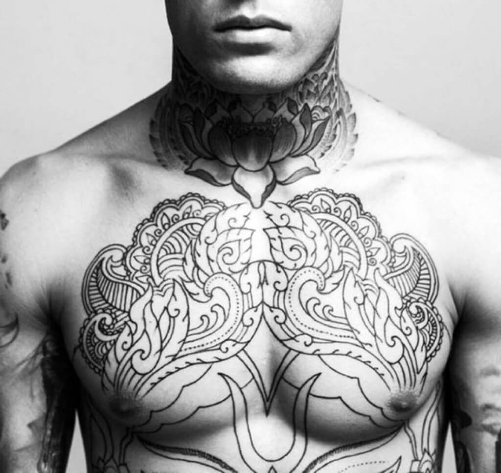 868b24b9b ... mens-full-chest-tattoos-top-90-best-chest- ...