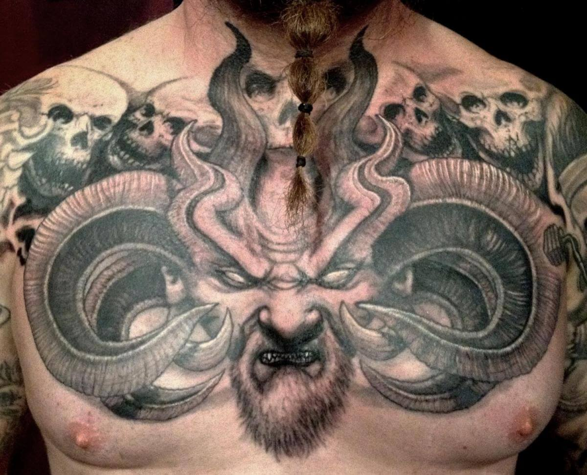 Male Chest Tattoo Gallery: The 100 Best Chest Tattoos For Men