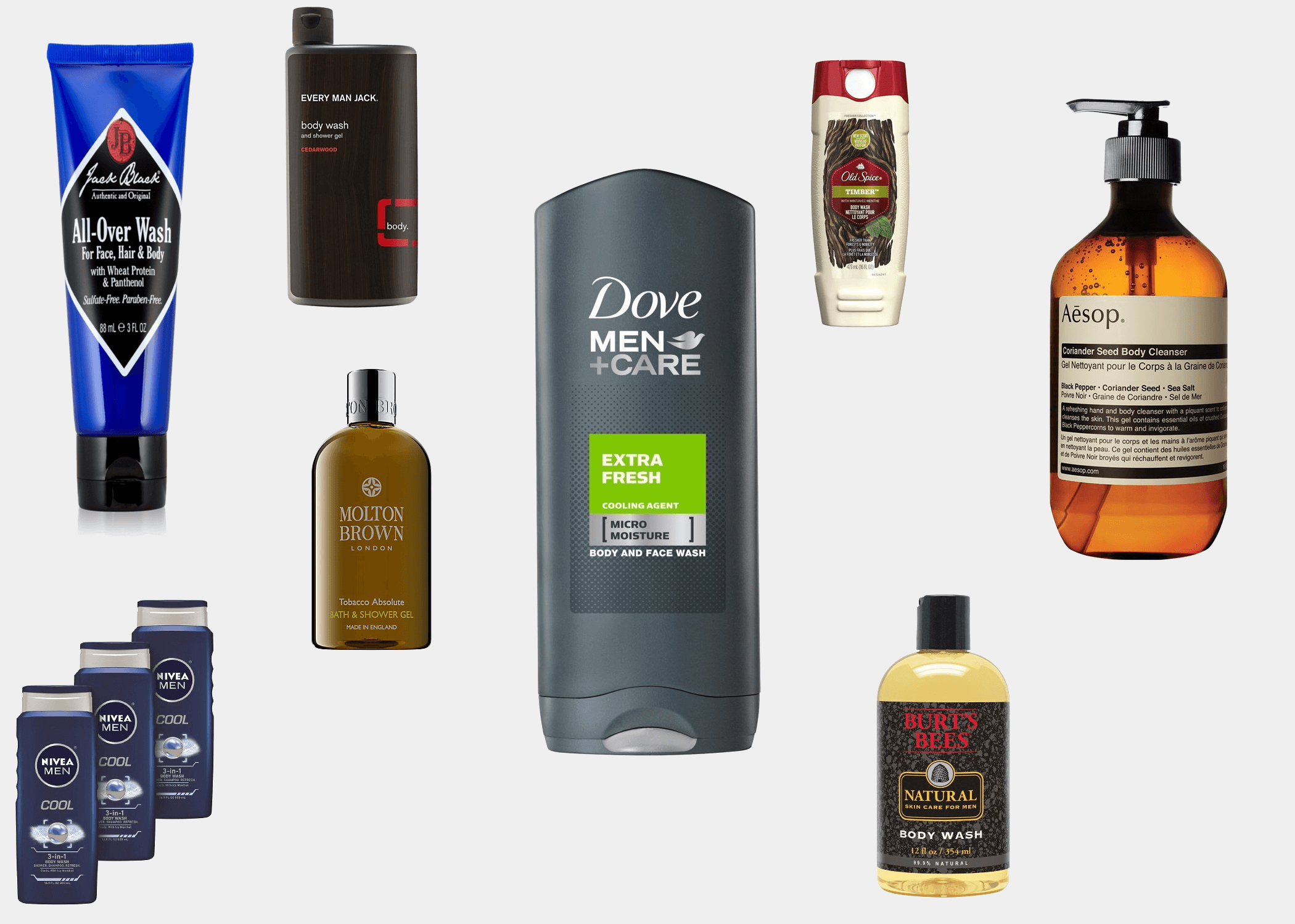 The 19 Best Body Washes For Men Improb