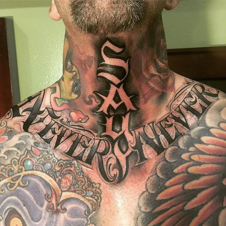 125 Top Neck Tattoo Designs This Year: The 80 Best Neck Tattoos For Men