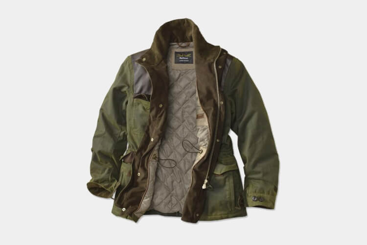 Barbour Land Rover Traveller Wax Jacket for men