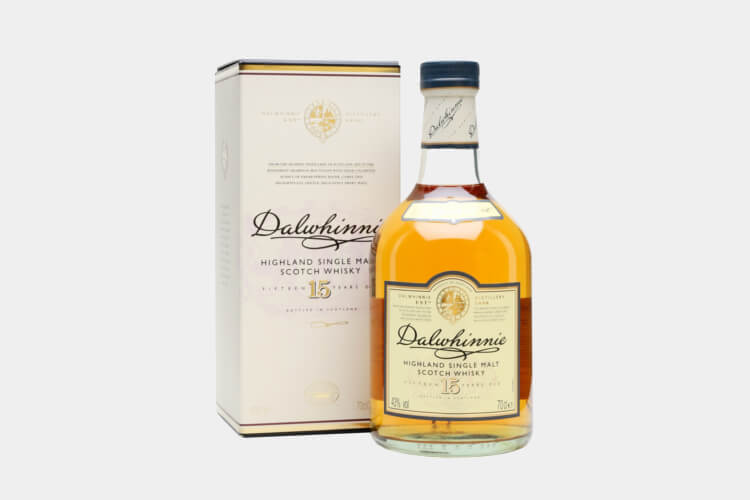 Dalwhinnie 15 year old whiskey