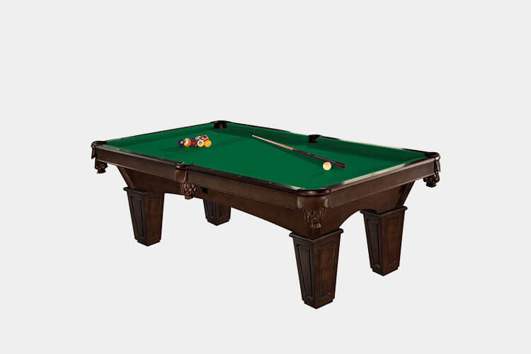 pool table for a man cave