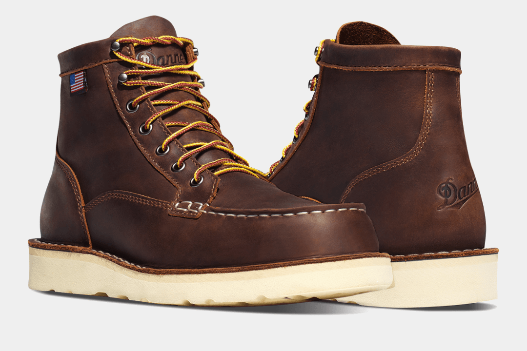 Danner Bull Run Moc Toe Work Boot
