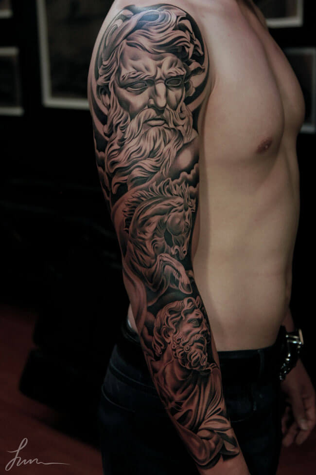 4cc5ed760 Top 100 Best Sleeve Tattoos For Men: Cool Design Ideas ...