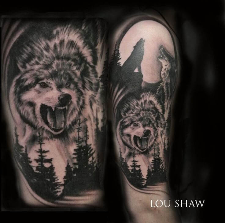 Image of: Tattoos Designs Be Sure To Check Whether The Tattoo Artist Is Up To The Task Though We Highly Suggest Looking For An Artist That Specializes In Realistic Tattoos For The Youtube The 85 Best Wolf Tattoos For Men Improb