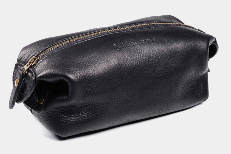 Allen Edmonds Leather Dopp Kit