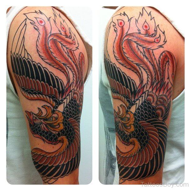 Japanese-Phoenix-Tattoo-Design-