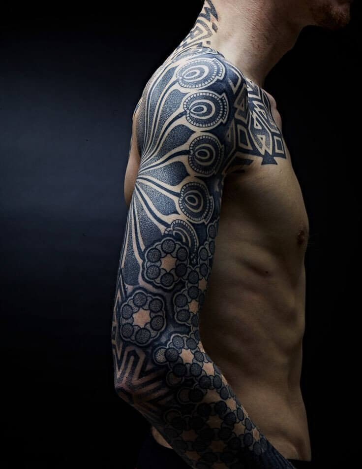 c35ce3e01aa4f Top 100 Best Sleeve Tattoos For Men: Cool Design Ideas ...