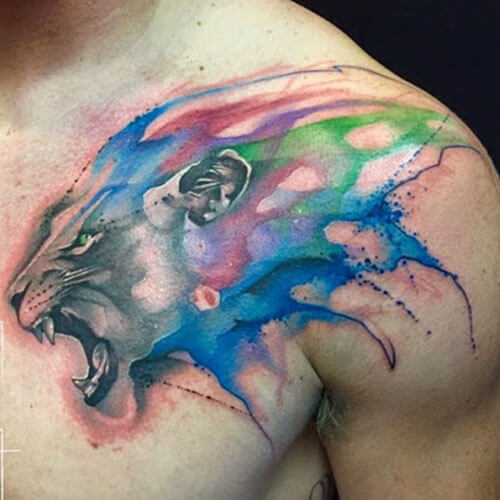 The 112 Best Watercolor Tattoos For Men Improb