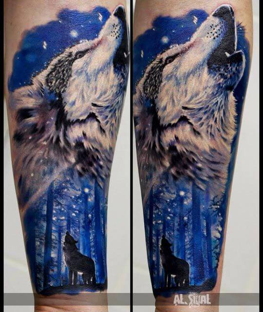 howling-wolf-tattoo-wolf-tatoo