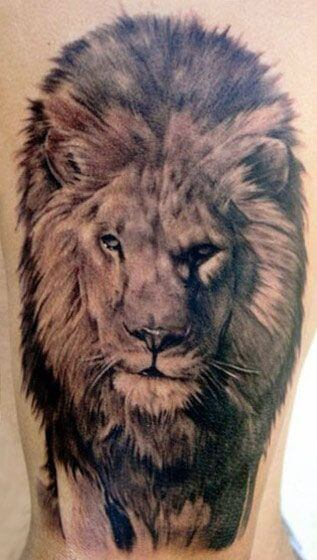 The King 105 Best Lion Tattoos For Men Improb
