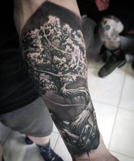 f672bfc1a Top 100 Best Forearm Tattoos for Men - Unique Designs & Cool ideas ...