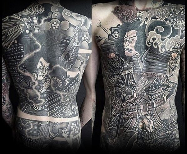 japanese-warrior-guys-chest-tattoos
