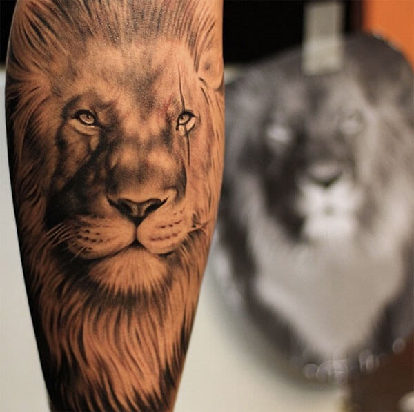 The King: 105 Best Lion Tattoos for Men | Improb