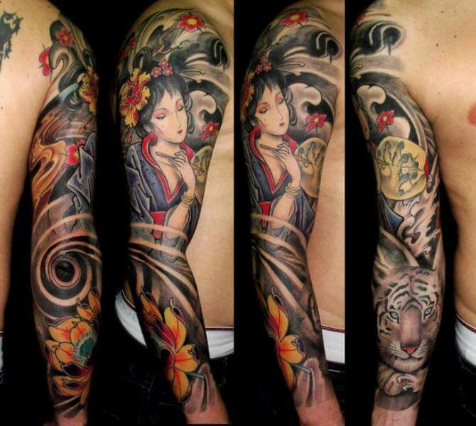 9b8ae7c1c93ba Top 103 Best Japanese Tattoos for Men | Improb
