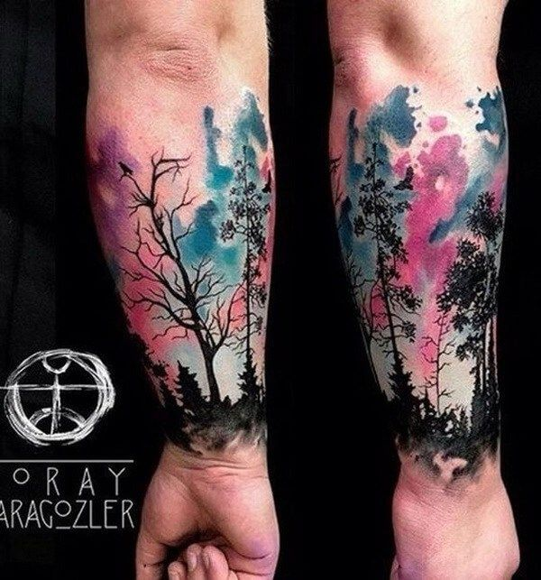 whale-tattoos-forest-tattoos