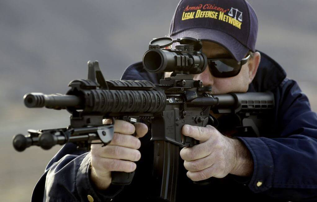 ar-15 rifle optics