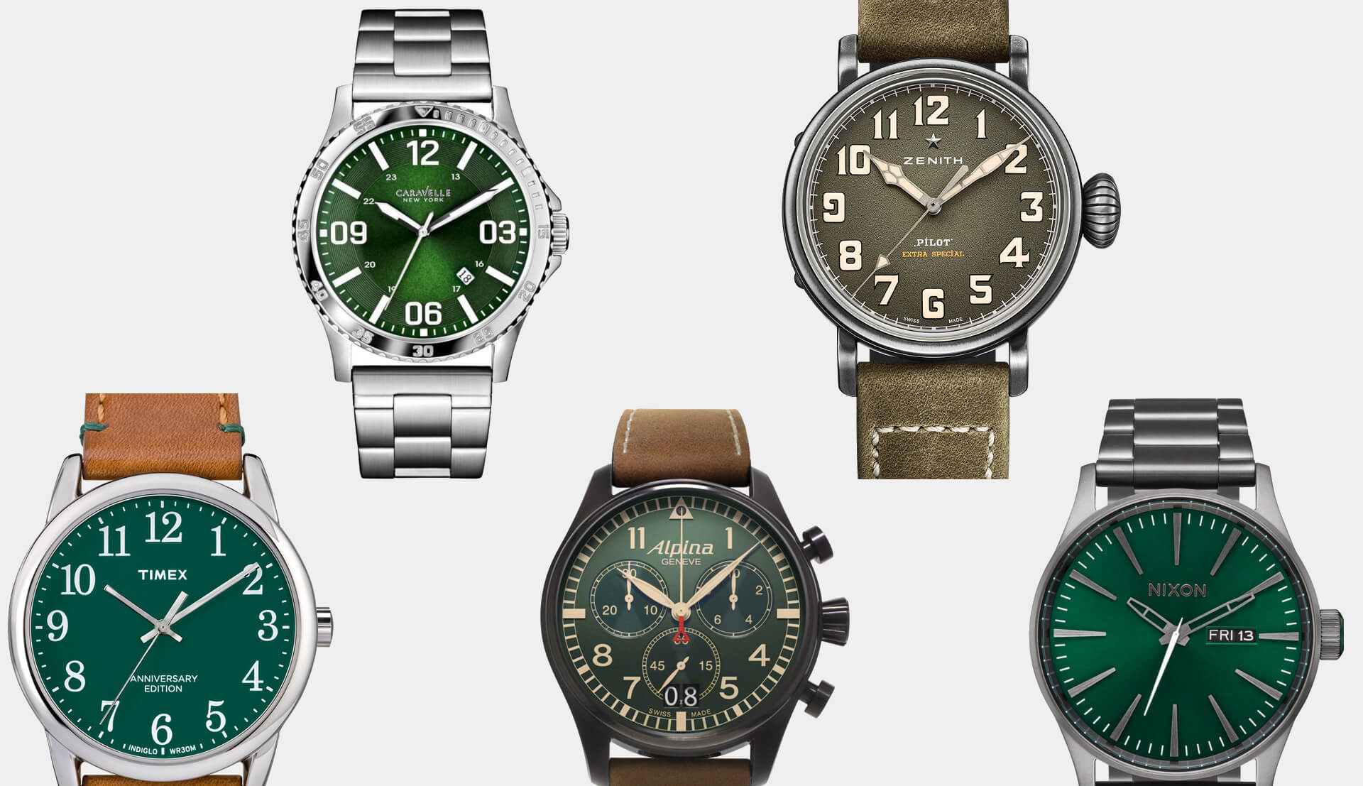 The 15 Best Green Dial Watches Improb