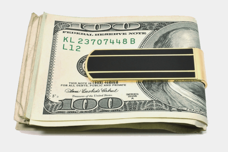 Adamant Men's Slim Money Clip