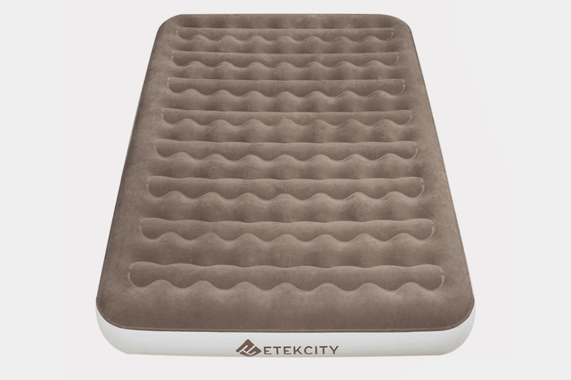 Etekcity Camping Portable Air Mattress with Rechargeable Pump