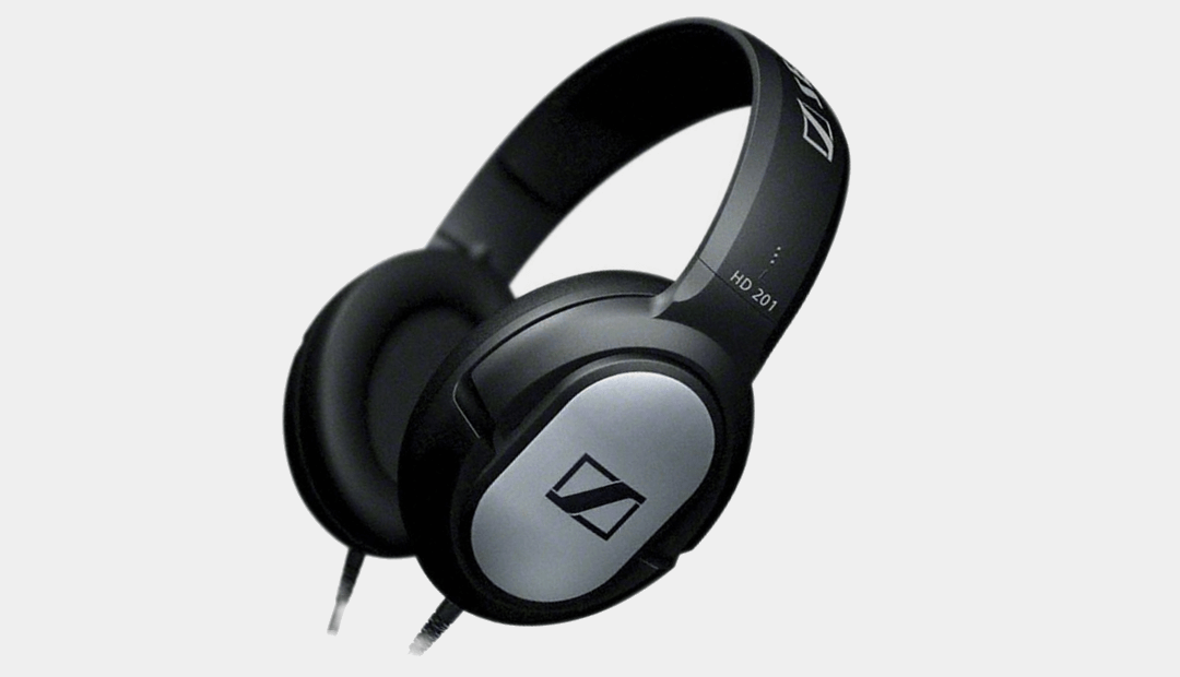 Sennheiser HD 201 Lightweight Headphones
