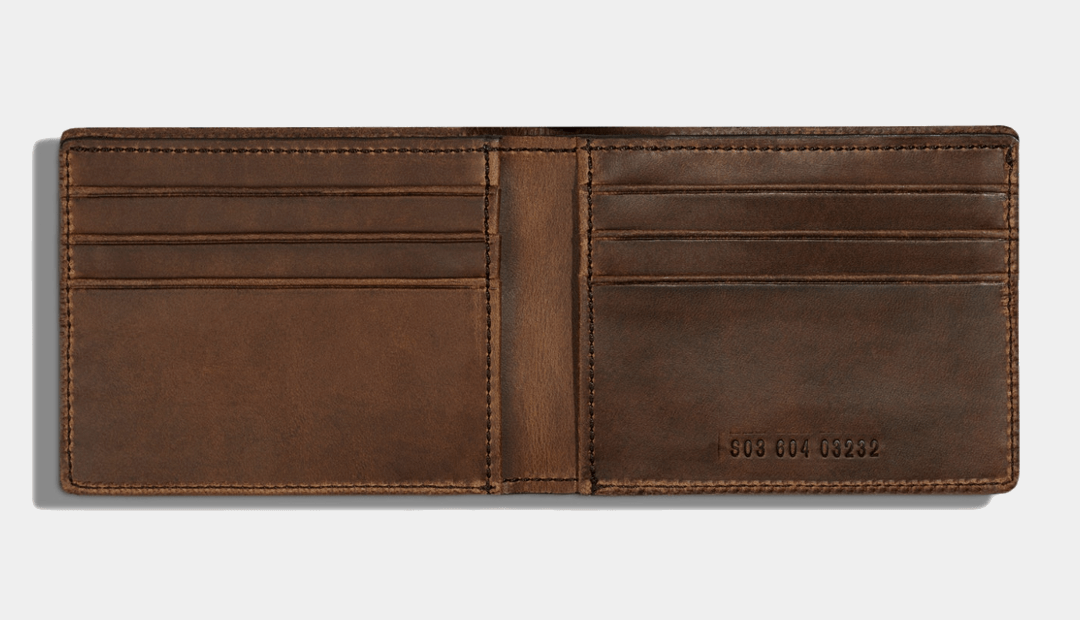 Shinola Slim Bi-Fold 2.0 Wallet