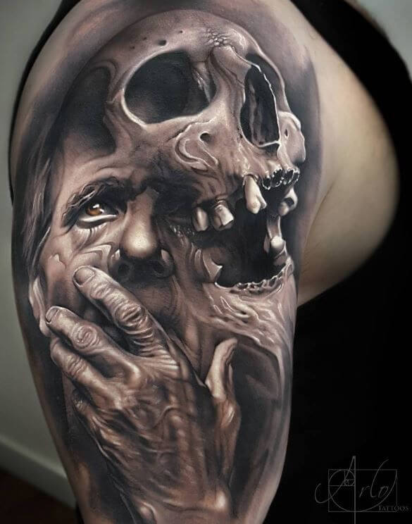 d411297a8 Here are some of the best skull tattoos for men.