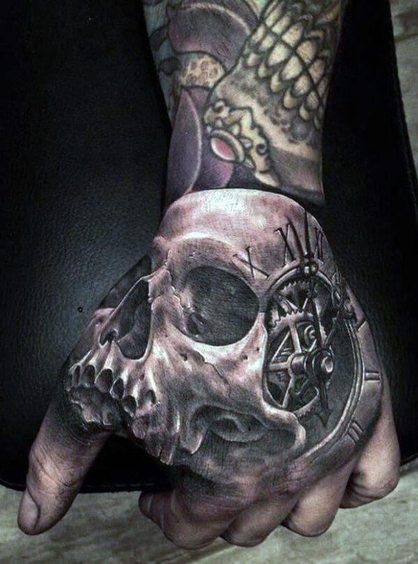 ae72ed921 Here are some of the best skull tattoos for men.