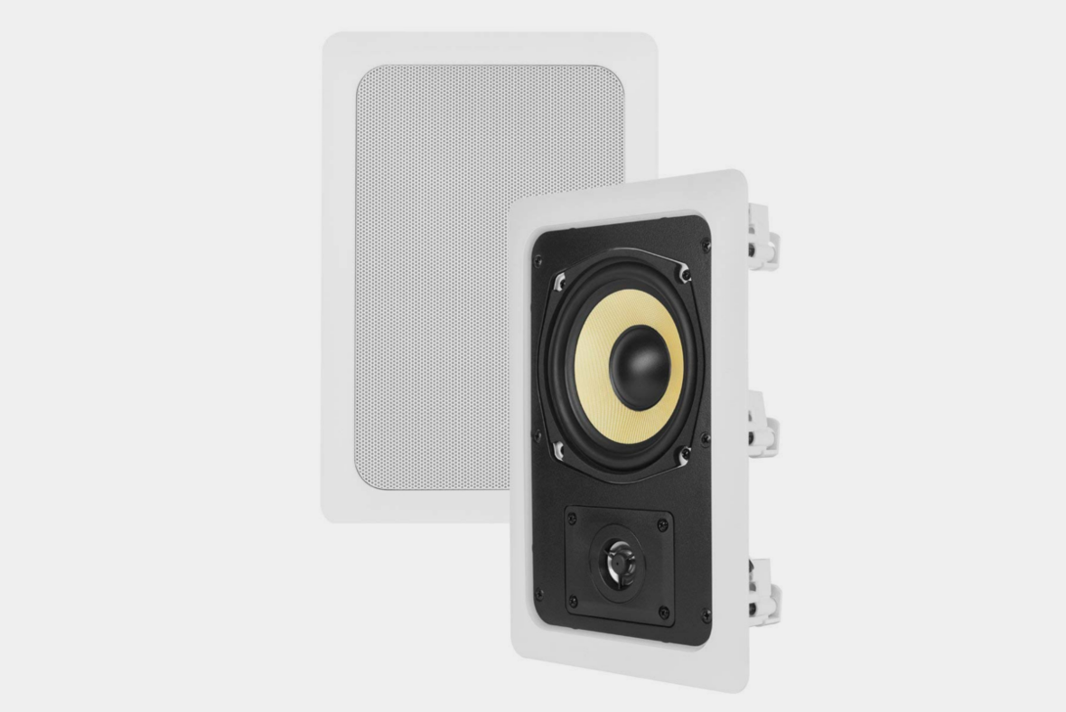 Theater Solutions TS50W 5.25-Inch Kevlar In-Wall Speakers
