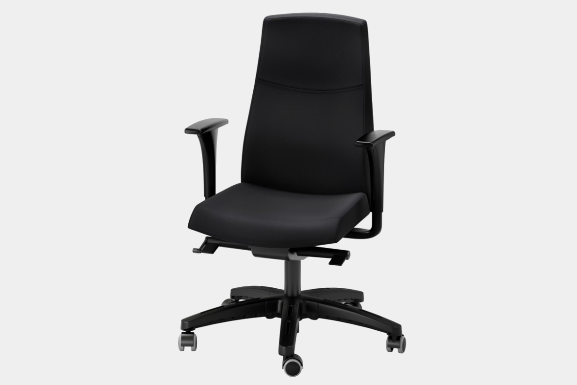 Ikea Swivel Chair with Armrests