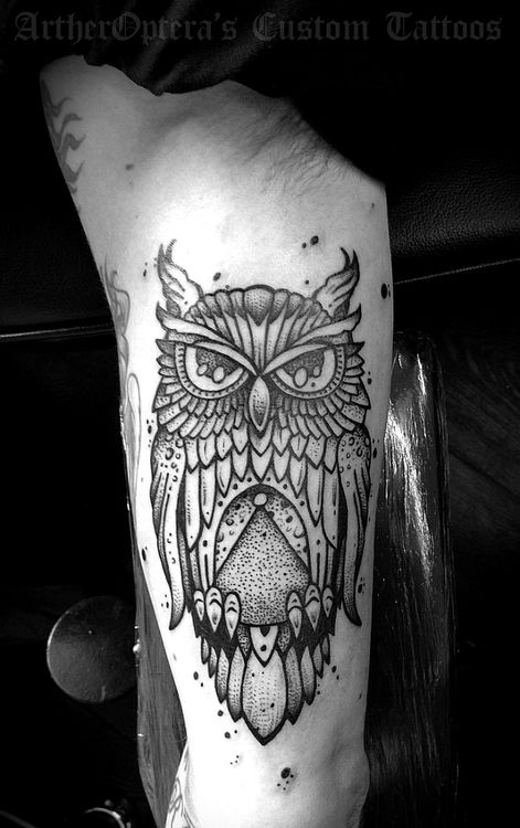 The 100 Best Owl Tattoos For Men Improb