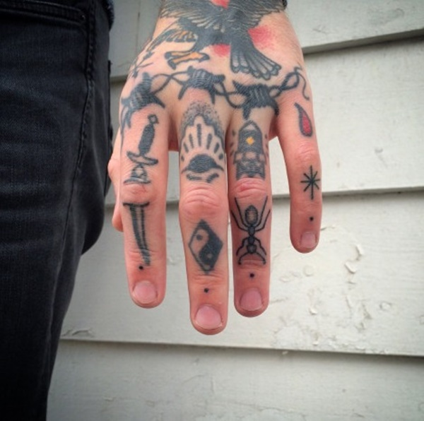 The 100 Best Finger Tattoos For Men Improb