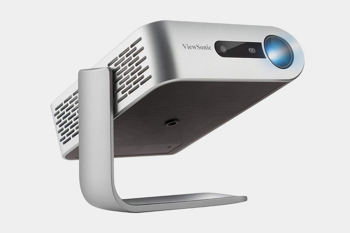 ViewSonic M1 Portable Projector with Built In Dual Harmon Kardon Speakers
