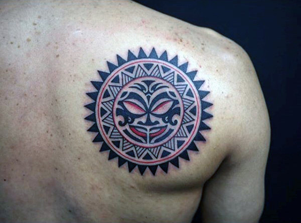best aztec design tattoo for men