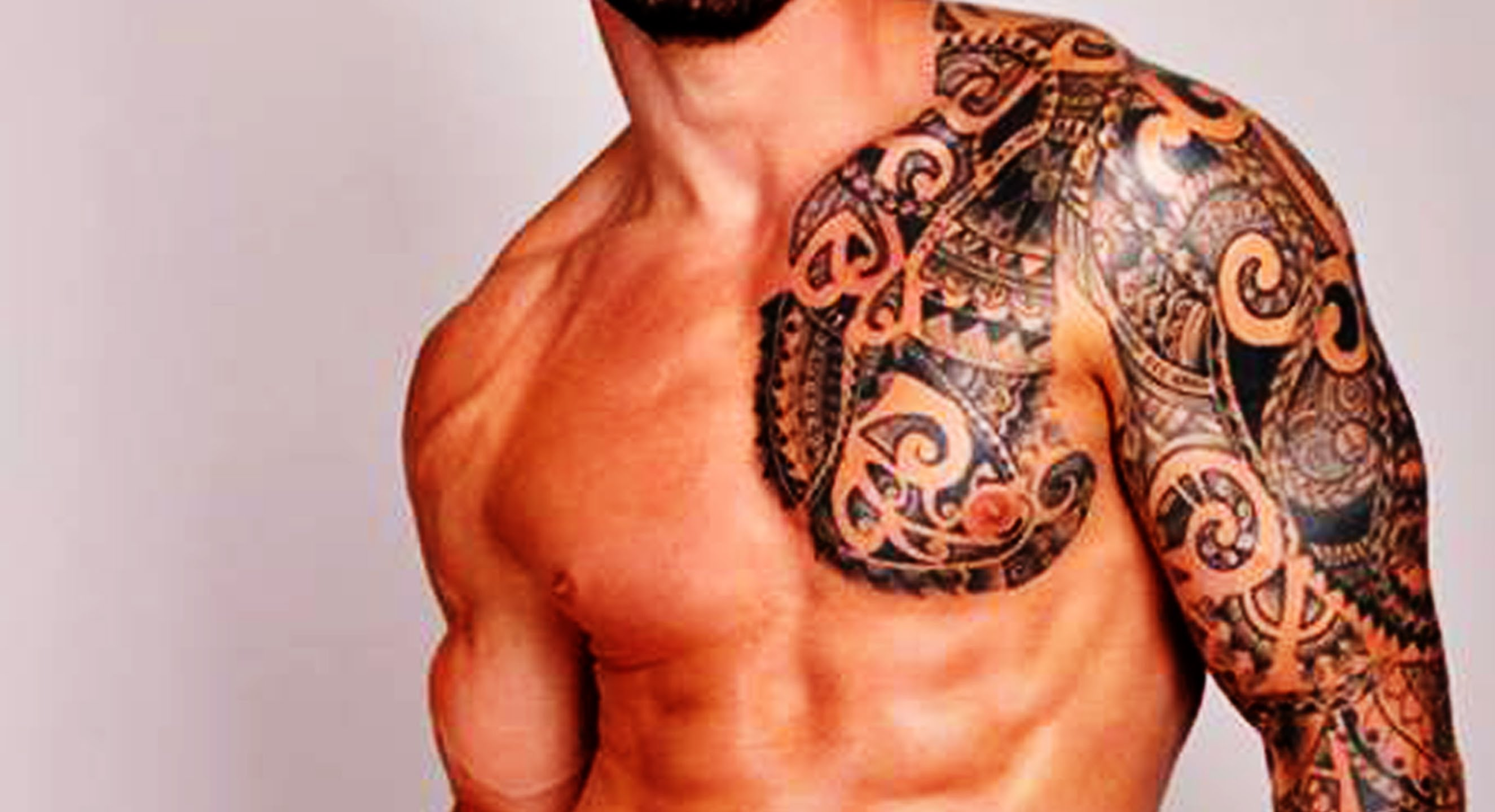 best geomentric design tattoo for men