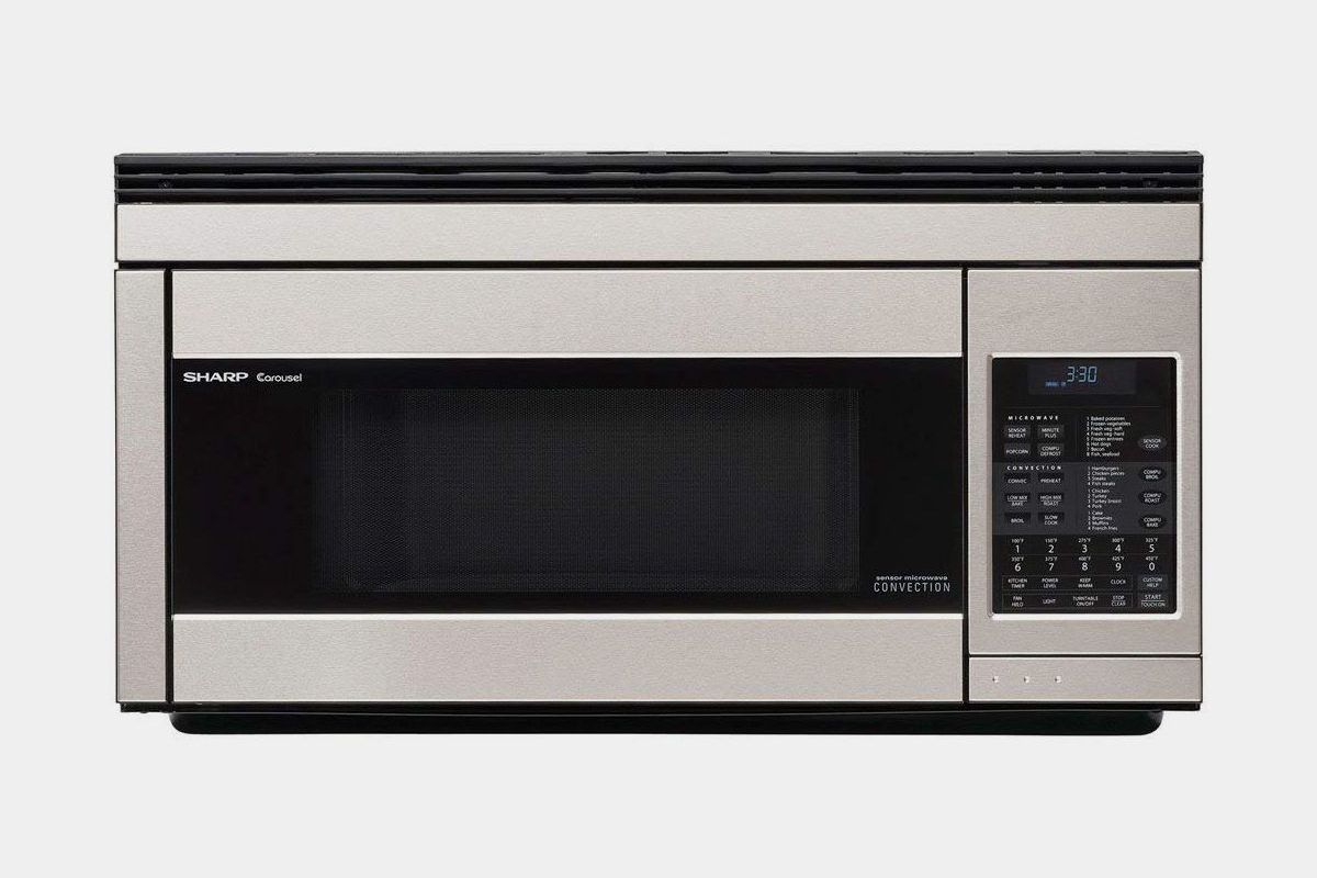 SHARP R-1874 850W OVER-THE-RANGE MICROWAVE OVEN