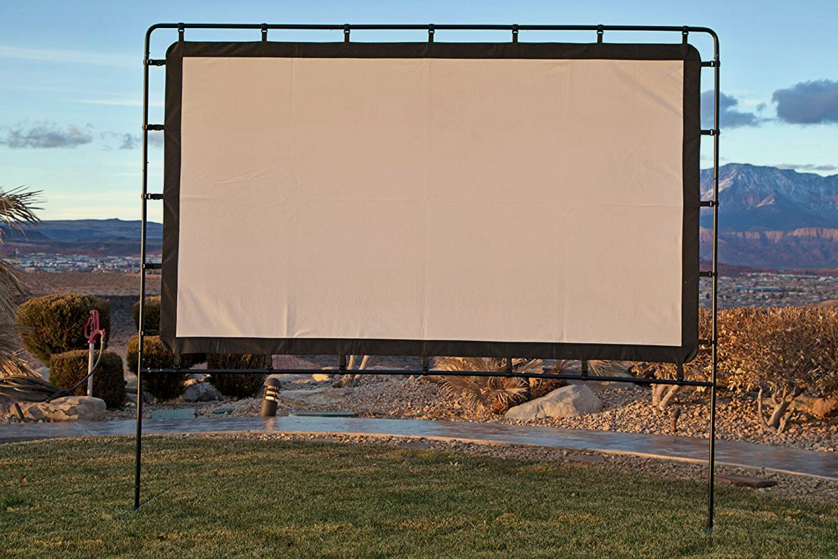 Camp Chef 92-Inch Portable Outdoor Projection Screen