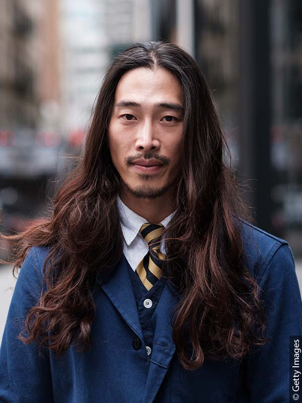 man-with-groomed-long-hair