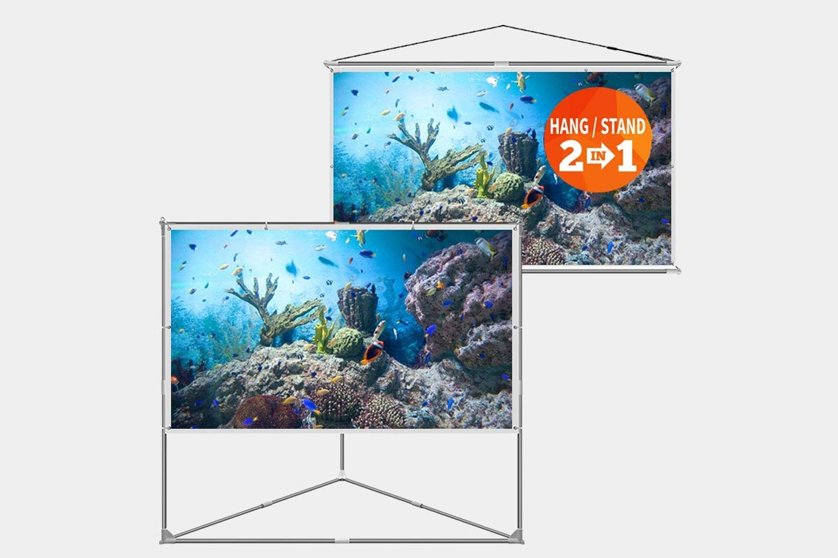 JaeilPLM-100-Inch-2-in-1-Portable-Projector-Screen