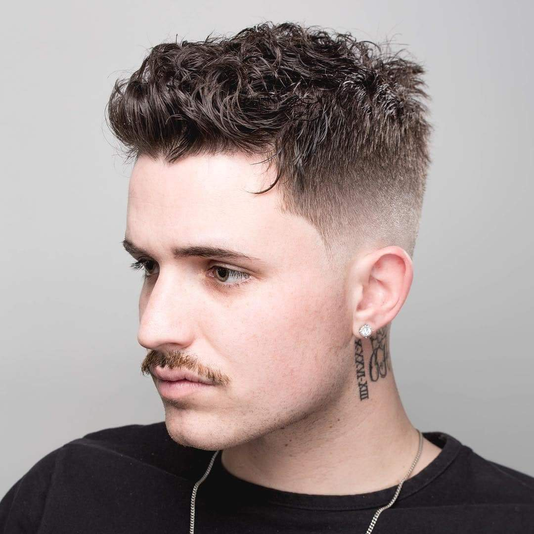 short-haircuts-for-men-with-curly-hair