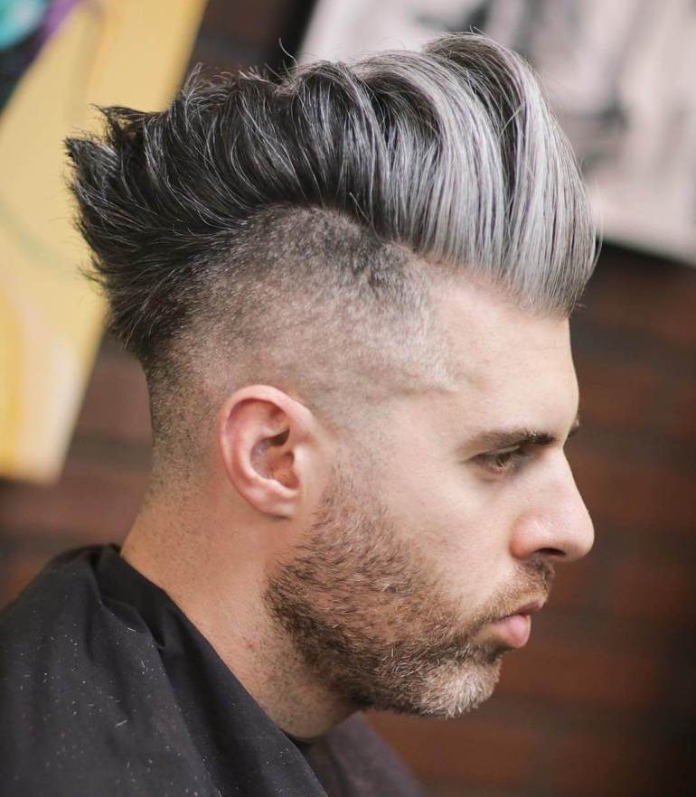 Medium Length Thick Hair Fade Hairstyles For Men 56